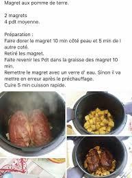 recette de cuisine cookeo recette magret de canard cookeo un site culinaire populaire avec
