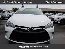 toyota com 2017 used toyota camry se automatic at triangle toyota de san juan
