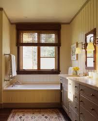 beadboard walls and with bathroom cabinets bathroom rustic and