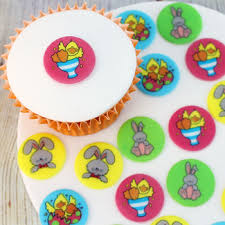 Easter Cake Decorations Easter Cake And Cupcake Toppers