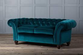 furniture lightweight sofa velvet couch navy tufted sofa