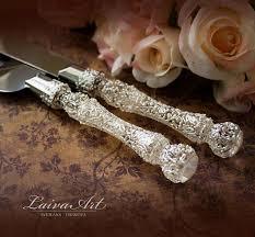 wedding cake cutter rustic wedding cake server set knife cake cutting set wedding