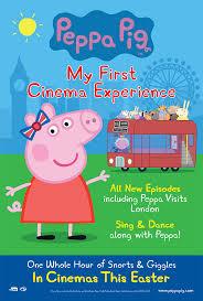 Peppa Pig 2017 Book Cinemagic 2017 Peppa Pig My Cinema Exper Book Tickets At