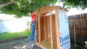 How To Make A Shed House by How To Build A Shed Youtube