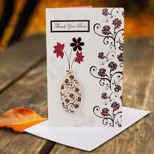 card invitation design ideas thank you greeting card