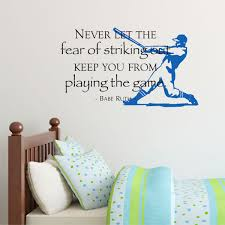 fear striking out papyrus wall quotes decal wallquotes com