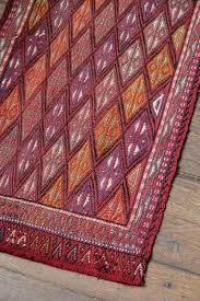 Small Runner Rug Small Vintage Claret Red Turkish Runner Rug Emily U0027s House London
