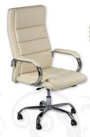 chaise de bureau beige fauteuil de bureau cuir beige