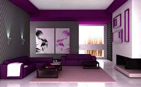renovate your livingroom decoration with nice vintage violet