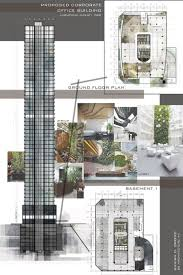 architectural layouts 22 best architectural works images on office buildings
