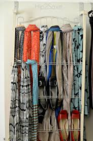 5 ways to organize scarves u2013 hip2save