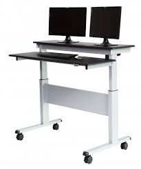 Adjustable Standing Desks by Two Tier Electric Stand Up Desk 48 Inch Stand Up Desk Store