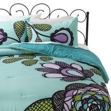 Purple Floral Comforter Set 55 Best Bedding Images On Pinterest Bed Sets Bedding Sets And