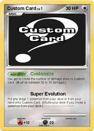 pokémon custom card customize my card
