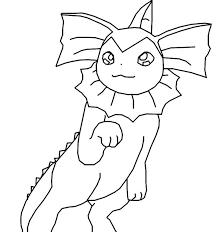 pokemon coloring pages vaporeon widescreen coloring pokemon