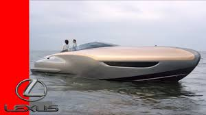 lexus hoverboard usa today lexus sport yacht concept youtube