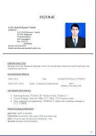 Resume Edit Format Diploma Mechanical Engineering Resume Samples Resume Format Edit