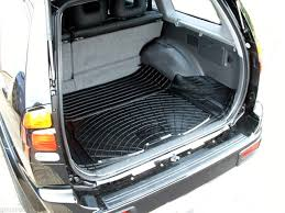 3pc rubber boot liner mat bumper protector mitsubishi challenger