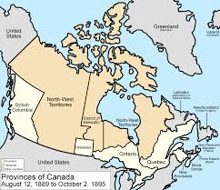 Nova Scotia Canada Map by 1891 Canadian Census