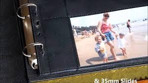 Binder Photo Album Ring Binder Photo Album Storage Youtube