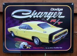 Dodge Challenger Super Bee - dodge charger tin metal sign super bee pack r t dart