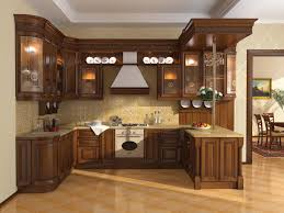 classic kitchen design ideas classic kitchen design with brown cabinet and cleany floor