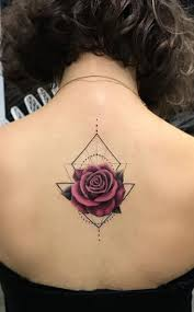 the 25 best geometric rose tattoo ideas on pinterest geometric