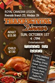 riverside rcl br 255 thanksgiving dinner essex county