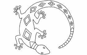 coloring pages amusing lizard coloring pages frilled lizard