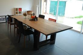 Grande Table Industrielle by La Table Enfin Les Bricoleuzes