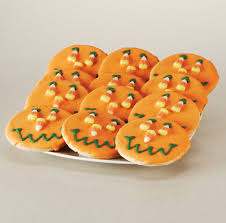 buy halloween cookies 12 wrapped jack o lantern smiley cookies