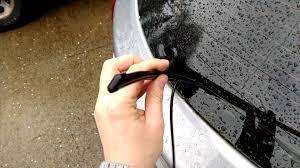 hyundai tucson rear wiper blade how to change rear wiper blade on 2013 2016 hyundai elantra gt i30