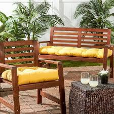 Amazoncom  Greendale Home Fashions  Outdoor Sunbrella Chair - Yellow patio furniture