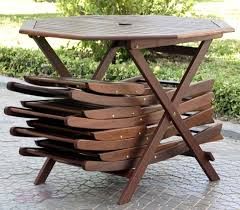 Small Folding Wooden Table Outdoor Furniture Blog 5pc Folding Outdoor Wood Patio Dining Set