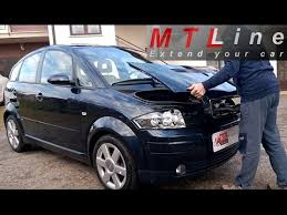 audi a2 audi a2 how to remove install back engine cover kako odstranit