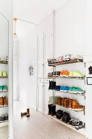 Bedroom Storage Hacks by Best 25 Closet Shoe Storage Ideas On Pinterest Shoe Racks For