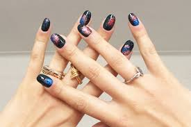 fourth of july fireworks mani upgrade your glitter nail art