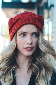 crochet hairband animal ear crochet headband