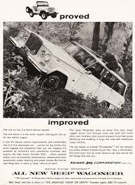 vintage jeep ad 1964 jeep wagoneer ad classic cars today online