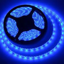 com meili led light strip smd 3528 16 4 ft 5 meter waterproof 300 leds 12v flexible rope light no power supply blue home improvement