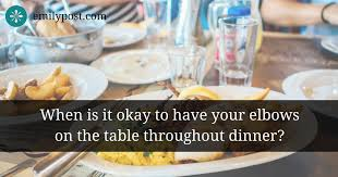 table manners top ten table manners the emily post institute inc