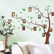 popular frames wall stickers buy cheap frames wall stickers lots photo frame green tree wall sticker mural decals removable vinyl room decor china