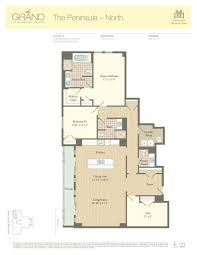 Two Story Condo Floor Plans by Residence 1201