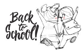 back to hand drawn lettering phrase with hand sketch two