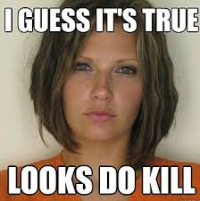 Old Cell Phone Meme - attractive convict meme doctored mugshots poking fun at
