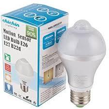 pir led light bulb chichinlighting 8 1w pir led bulbs b22 bayonet base motion sensor
