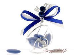 drag es mariage boule dragées bleu royal vente contenant drages mariage bleu