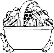 easter basket with eggs coloring page 93 best animal images on pinterest debt consolidation life