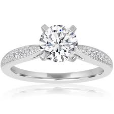 Teardrop Wedding Ring by Engagement Rings At Bernie Robbins Jewelers