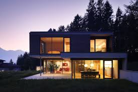 Contemporary Houses Contemporary House In Austria Exhaling Transparence With